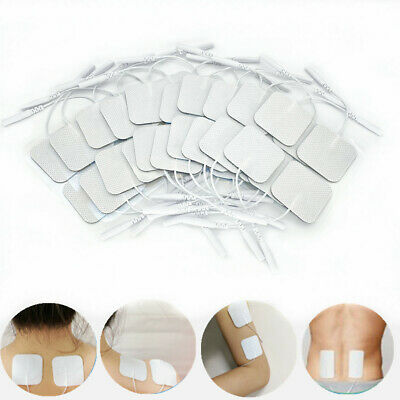 Electrode Pads Replacement for Tens Unit 7000 Machine Massagers 4x4cm Silica Gel