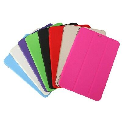 """Slim Smart Cover Case Stand For Tablet Samsung Galaxy Tab S2 8""""(Rose Red) BX"""