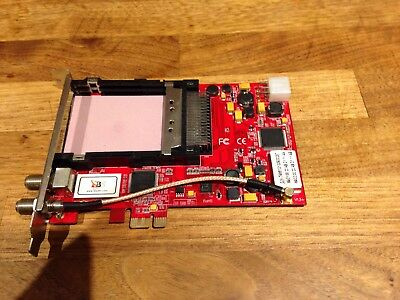 Tbs 6991  Pcie Dvb-S2 Dual Tuner Dual Ci Slot Digital Satellite Card For Pc