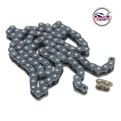 460mm T8F Chain 116 Links with Spare Master Link for 47cc 49cc 2 Stroke ATV Quad