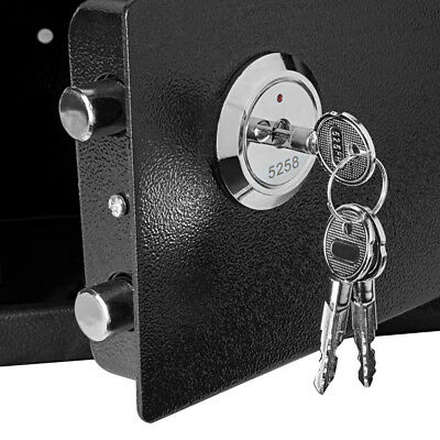 Fireproof Safe Security Box Chest Fire Waterproof Lock Resistant Home Storage