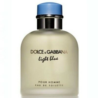 Dolce E Gabbana Light Blue Uomo Eau De Toilette 125 Ml