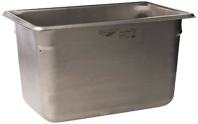 """Vollrath 30462 6"""" Deep Super Pan V Stainless Steel Fourth-Size Steam Table Pan"""