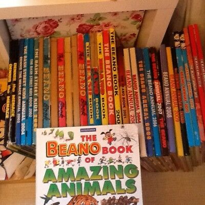 Huge Collection Of Beano Annuals, Comics, Books Dennis The Menace Bargain Lot