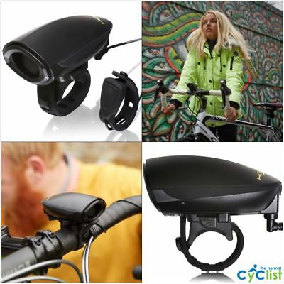 """Black New 80mm Oversize /""""Ding-Dong Sound/"""" Bicycle Cycling Color Big Bell Horn"""