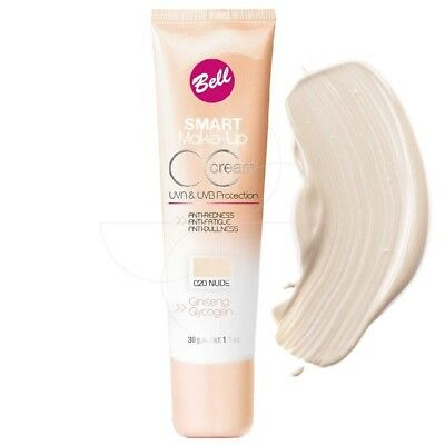 Bell - Smart make up CC crème n°20 nude - 30g
