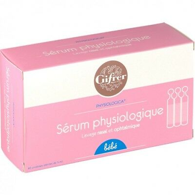 Gifrer Physiologica Sérum Physiologique 40 x 5ml