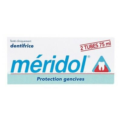 Méridol Dentifrice Gel protection gencives lot 2*75ml