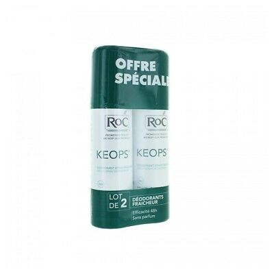 Roc Keops Déodorant Fraicheur Spray 2x100ml