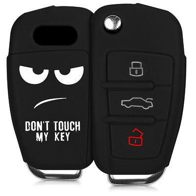 Car Key Fob Cover for Audi Silicone Rubber Case