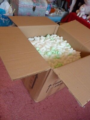 Packaging peanuts and packing foam - big box - collection only