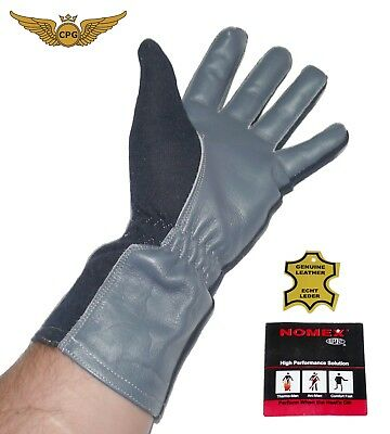 Summer NOMEX Pilot, aviation, flight, tactical gloves - NAVY Dark blue