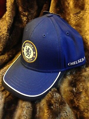Chelsea Fc Official Merchandise Football Taper Cap Hat