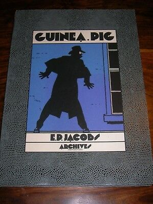 Guinea Pig / E. P. Jacobs / Porfolio Archives Internationales Hc 30/30 Rare
