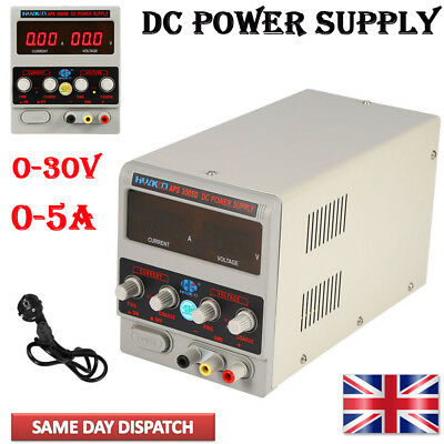 Adjustable DC Power Supply Precision Variable Digital Lab 0-10A 0-30V uk