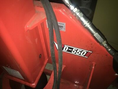 Eterra PD 550 High Impact Post Driver For Skid Steer
