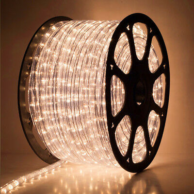 FlexiLight 48M Warm White LED 3-wires Chasing Rope Light  clearance price
