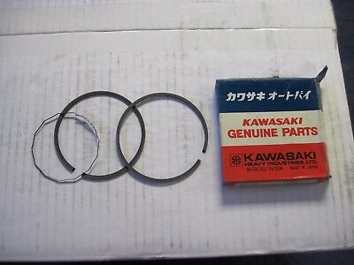 Kawasaki KT piston rings new 13008-054