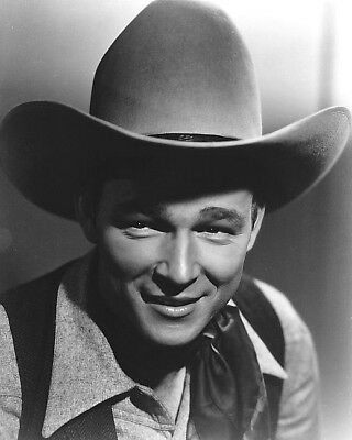 1940 ORIGINAL Photo NEGATIVE - ROY ROGERS a YOUNG King of Cowboys by FREULICH