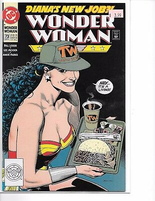Wonder Woman Issue #73  Bolland Cover(1993) DC VF/NM