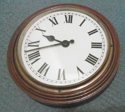 Vintage Gillett & Johnston Slave Electric Wall Clock - Vgc !