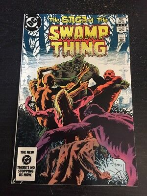The Saga Of Swamp Thing#18 Incredible Condition 9.4(1983) Yeates Art!!