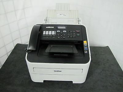Brother IntelliFax-2940 High-Speed Laser Fax Machine new toner and drum