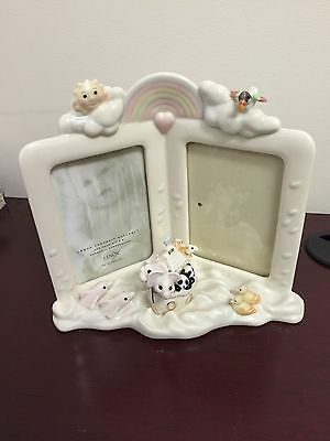 Lenox: Noahs Ark Twin Baby Picture Frame 3 1/2 X 5 Inches