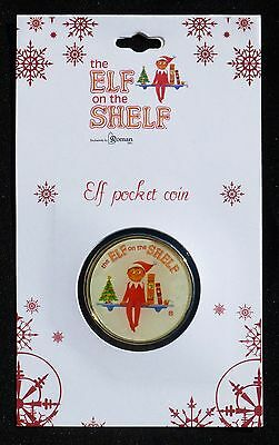 """New The Elf On The Shelf Two-Sided Collectible Pocket Coin By Roman: """"i Believe"""""""