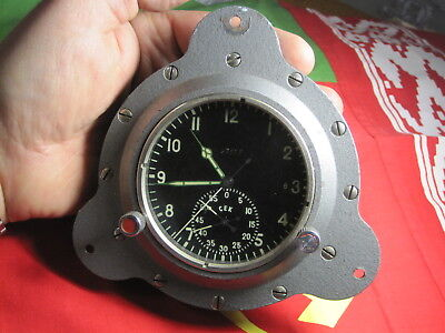 Soviet USSR Military Navy Marine Chronograph watch clock