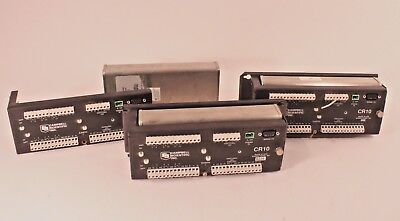 Lot of 3 Campbell Scientific CR10 Wiring Panel Data Logger with control module