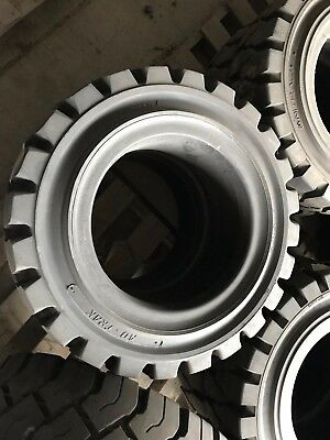 22X8X16 Solideal Ad-Trak Traction Forklift Tire Press-On