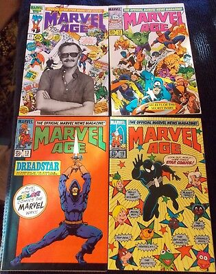 Marvel Age 41 (Stan Lee Photo), 12 (1st Black Costume), 13, 19