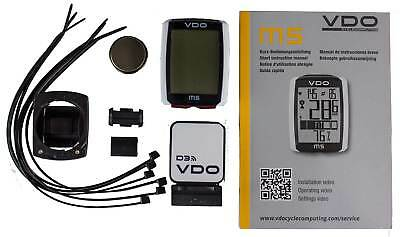 New 2016 VDO M5 WL Wireless Bike Cycle Computer Bicycle Speedometer