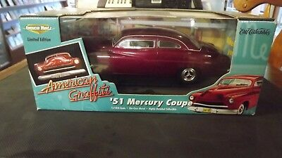1951 Mercury Coupe Ertl Collectible 1/18th scale Die-Cast New in Box