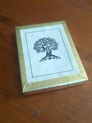 Vintage Antioch Bookplates Tree with Book Roots Gummed Opened Box of  50 Unused