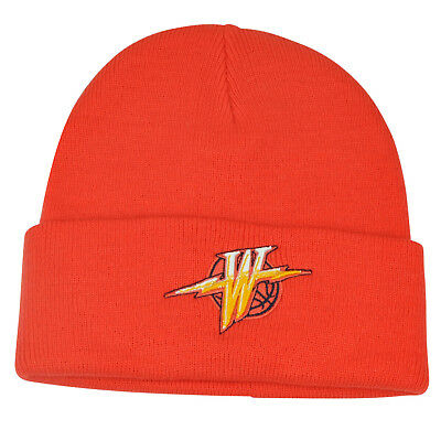 adee6e241d1 ... discount nba adidas golden state warriors vintage old logo cuffed knit  beanie hat orange 4ef04 a0eee