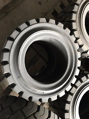 16X5X10.5 Solideal Ad-Trac Traction Forklift Tire Press-On