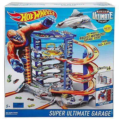 Gioco Super Mega Ultimate Hot Garage Hot Wheels Mattel