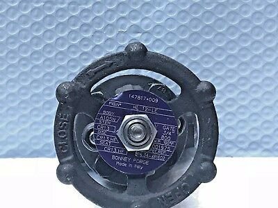 """NEW Bonney Forge 3/4"""" Class 800# Gate Valve A105N Forged Steel Body HL 12- LE"""