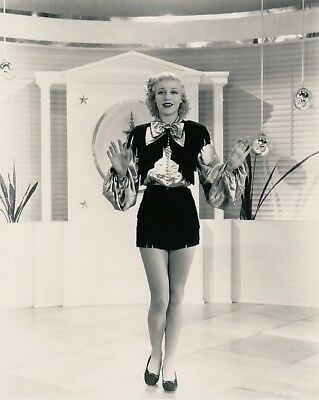 RARE 1936 ORIGINAL Photo NEGATIVE - GINGER ROGERS a YOUNG Star Performer