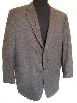 Ralph Lauren Dillards 100% Wool Mens 46R Mini-Dogtooth Sports Jacket Excl' Cond'