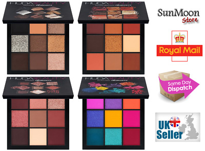 HUDA Beauty Collection Electric Warm Brown Smokey Mauve Obsessions