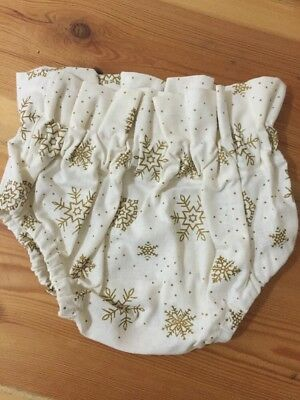 Hand Made Christmas Bloomers For Baby (NEW)