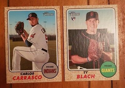 2017 Topps Heritage High Numbers - 100 Baseball Card Lot
