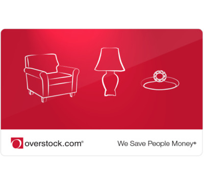 Get a $100 Overstock.com Gift Card for only $90 - Email delivery