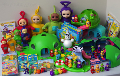 amprareamp teletubbies come and play playset w 4 figures