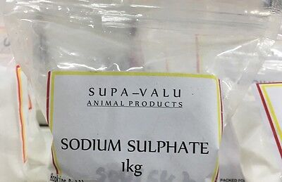 Sodium Sulphate 1KG  ~ Animal Product