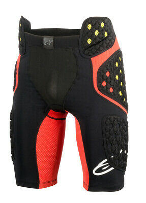 Alpinestars MX/Motocross SEQUENCE PRO MX Shorts (Black/Red) 2XL (2X-Large)