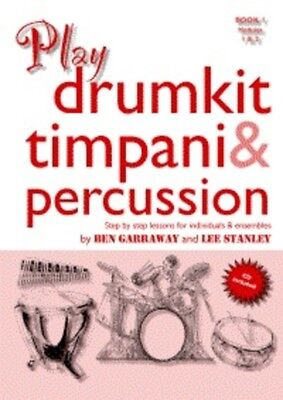 Play Drumkit Timpani & Percussion Bk/Cd